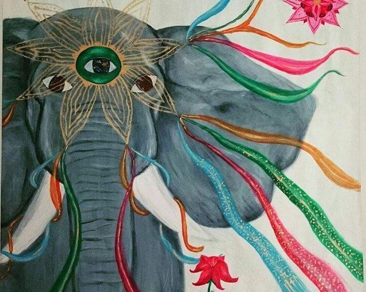 Kraftbild Elefant