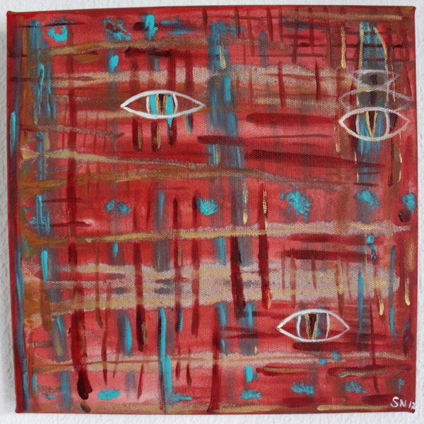 Kraftbild Klarheit Acrylmalerei