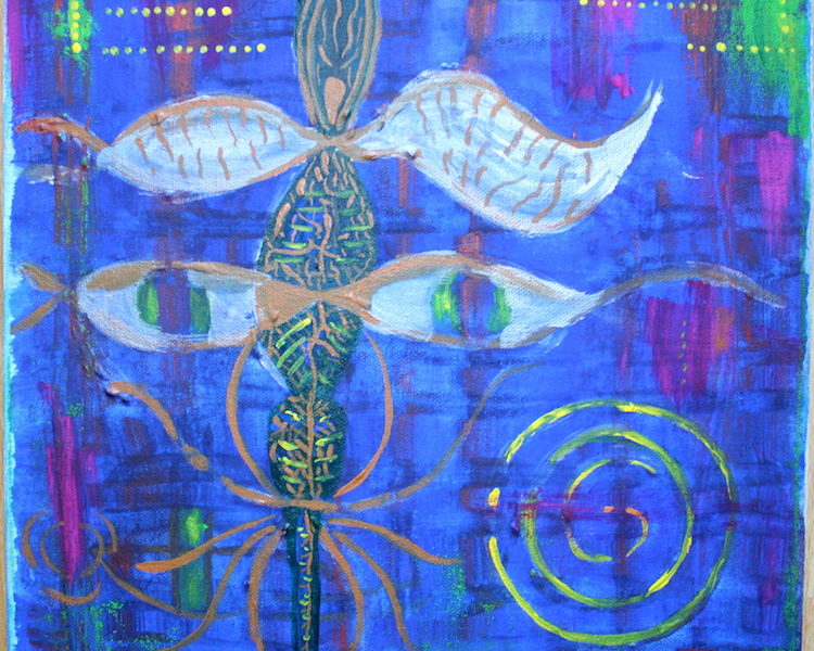 Krafttier Libelle / Metamorphose