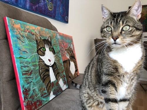 Haustier Portrait malen lassen