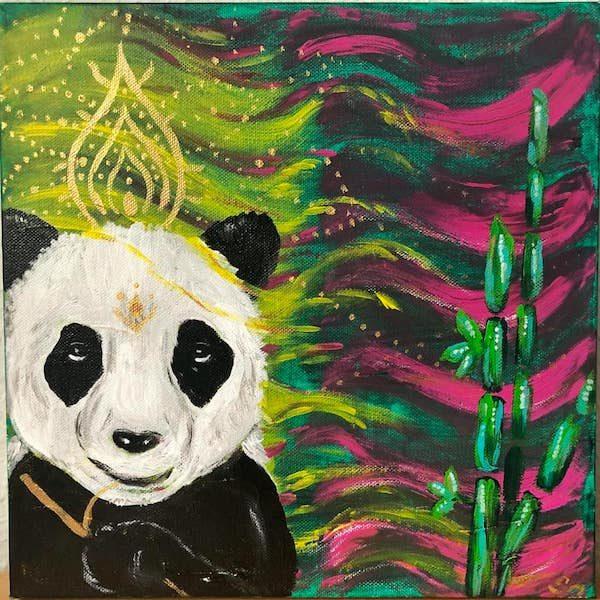 Krafttier Panda Kraftbild Stärke Weisheit