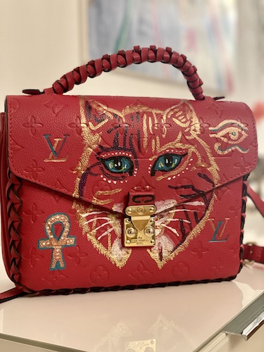 Krafttier Luchs Designer Tasche