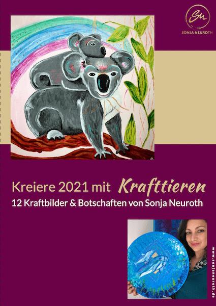 Kalender 2021 Krafttiere